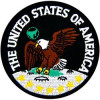 FL21 - United States of America Small Patch