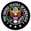 FL22 - Presidential Seal of America Small Patch