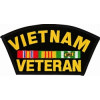FLB1340 - Vietnam Veteran Black Patch