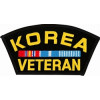 FLB1348 - Korea Veteran Black Patch