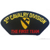 "FLB1395 - 1st Calvary Division with ""The First Team"" Black Patch"