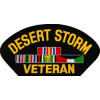 FLB1416 - Desert Storm Veteran Black Patch