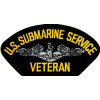 FLB1443 - US Submarine Service Veteran Black Patch
