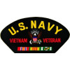 FLB1445 - US Navy Vietnam Veteran Black Patch