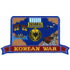 FLB1504 - Korean War Colored Patch