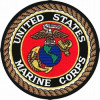 FLB1548 - US Marine Corps Round Insignia Patch