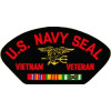 FLB1554 - US Navy Seal Vietnam Veteran Black Patch