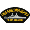 FLB1621 - USS Arizona BB-39 Pearl Harbor Black Patch