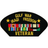 FLB1690 - Gulf War/Iraqi Freedom Veteran Black Patch