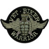 FLC1914 - Vet Biker Warrior Back Patch (4 x 3 inch)