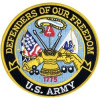 FLD1708 - US Army Defenders of Our Freedom Back Patch