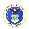 "FLF1245 - United States Air Force Back Patch (10 "")"