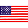 PCF27 - United States 1 Sided Screen Printed Flag 3' x 5' ft