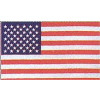SFC66 - United States 1 Sided Screen PrintedFlag 2'x3'