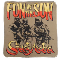 FLD1954 - Fun In The Sun Suadi Arabia Patch